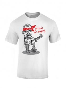 Tshirt Yoshi Brassens Blanc