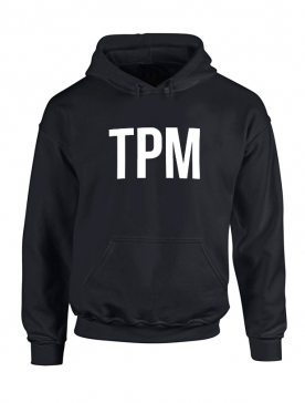 Sweat Capuche Noir TPM