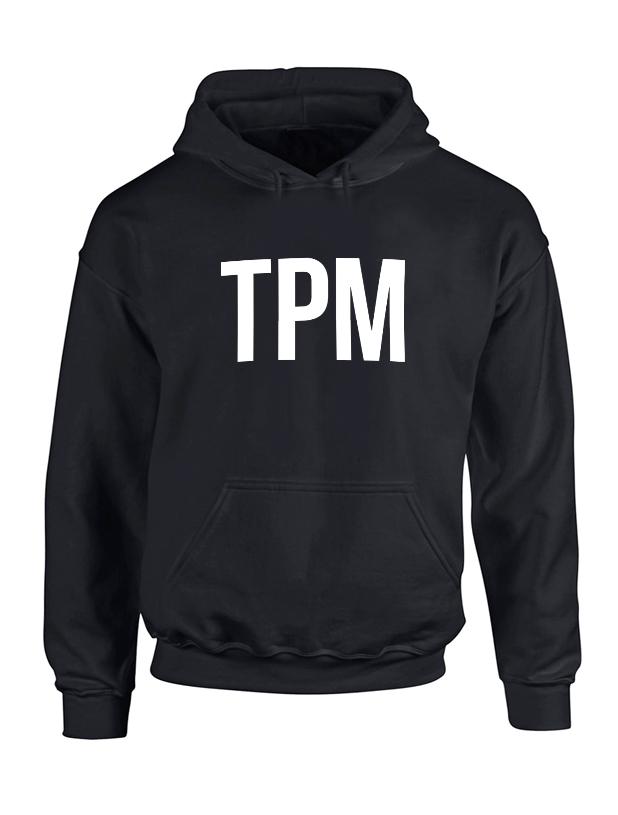Sweat Capuche Noir TPM