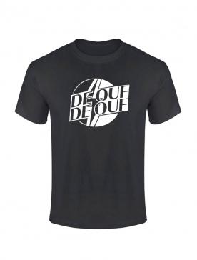 Tshirt De Ouf Noir