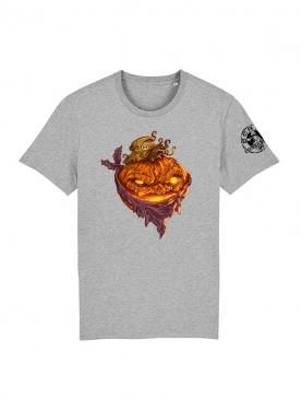 T Shirt gris Halloween 1 Yassin Latrache
