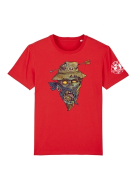 T Shirt Rouge Halloween 2 Yassin Latrache