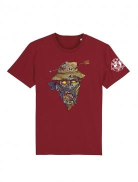 T Shirt Bordeaux Halloween 2 Yassin Latrache