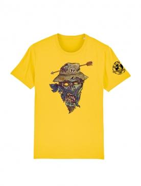 T Shirt jaune Halloween 2 Yassin Latrache