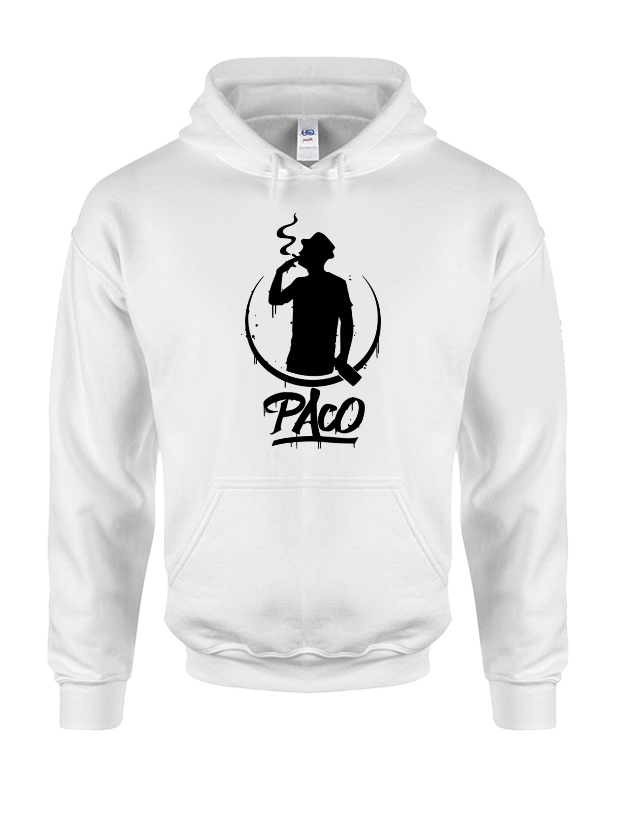 Sweat Capuche Paco Blanc