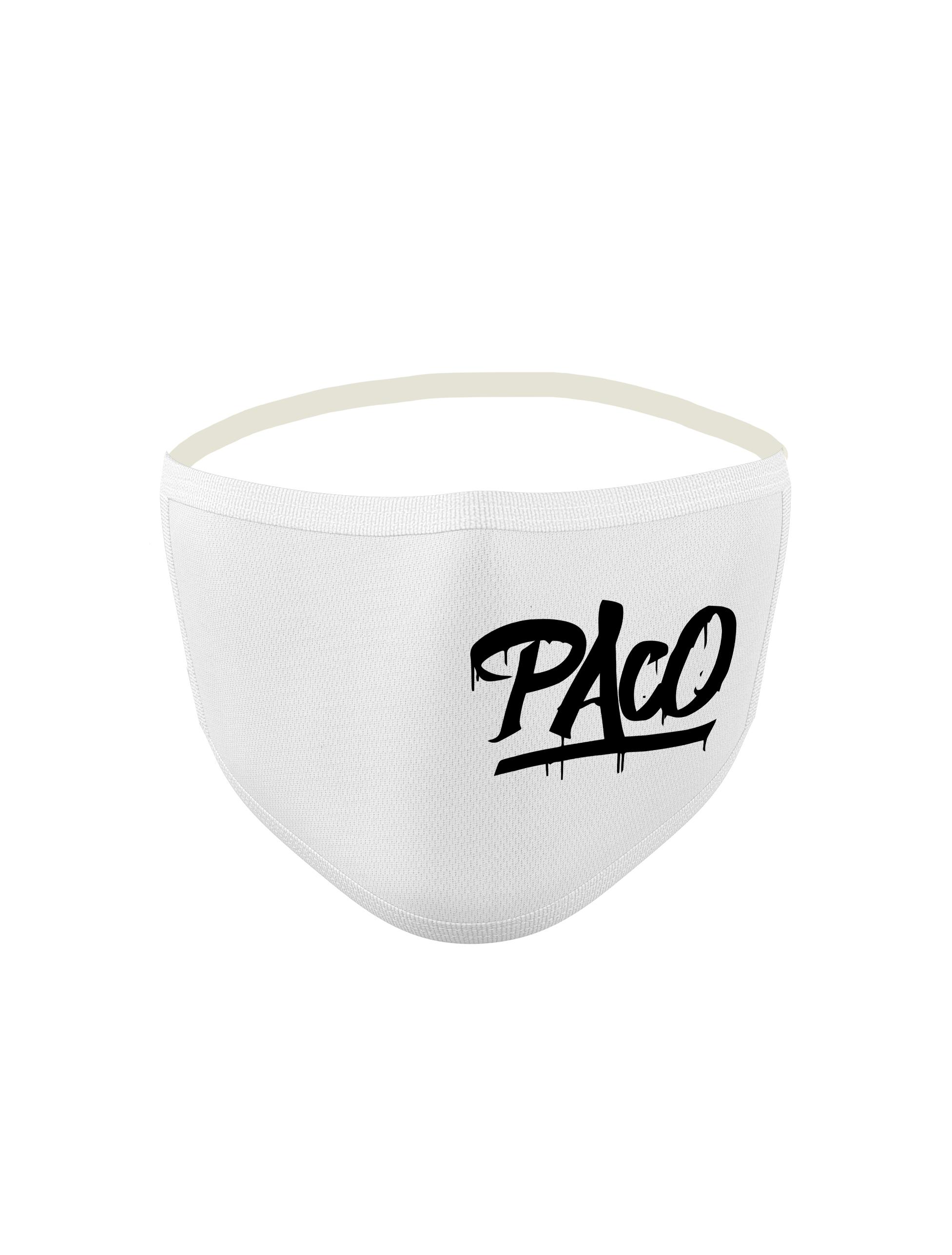 Masque Paco Blanc