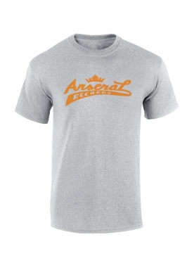 "T-Shirt la cliqua ""Arsenal records"" Gris"