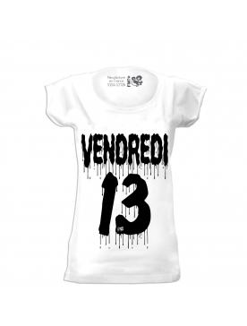 t-shirt femme filante vendredi 13