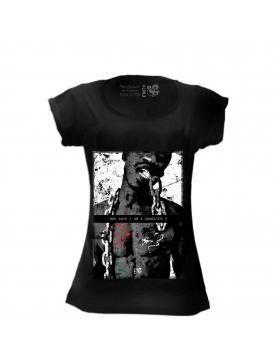 t-shirt femme chaine filante