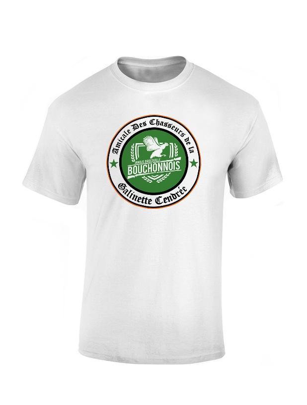 T-shirt Amadeus Galinette Blanc