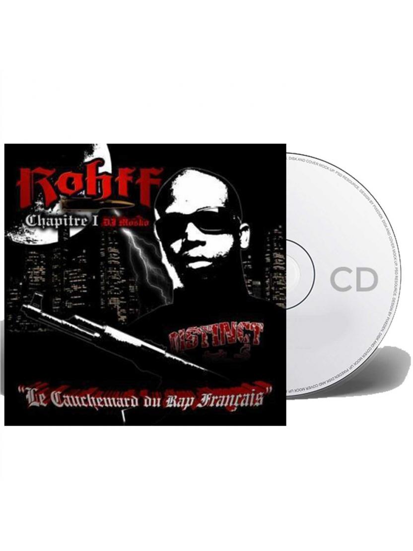 """Album Cd """"Rohff"""" - Le cauchemar du rap francais"""