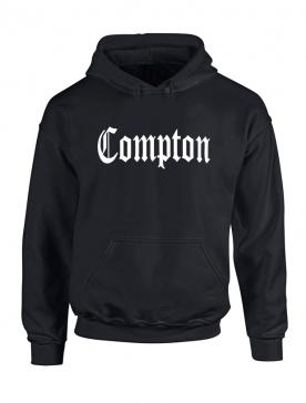Sweat Capuche Noir Compton