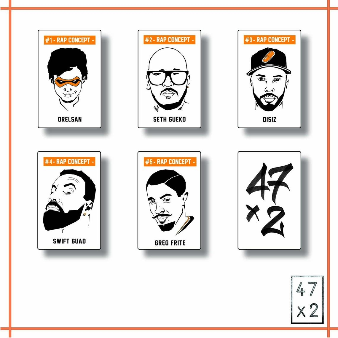 Jeu des 7 Familles Rap Français