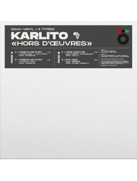 "Maxi Vinyle ""Karlito - Hors d'oeuvres"""