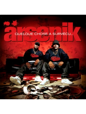 "Album Cd ""Arsenik"" - Quelque chose à survécu"
