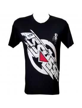 "tee-shirt assassin ""la justice"" noir"