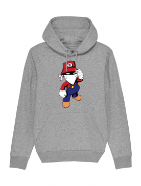 Sweat enfant Mario Gris