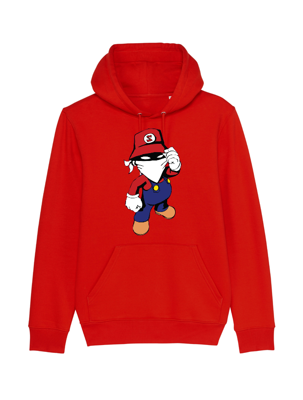 Sweat enfant Mario Rouge