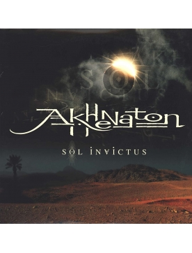 "Album Cd ""Akhenaton - Sol Invictus"""