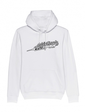 Sweat Capuche Blanc Addictovybz