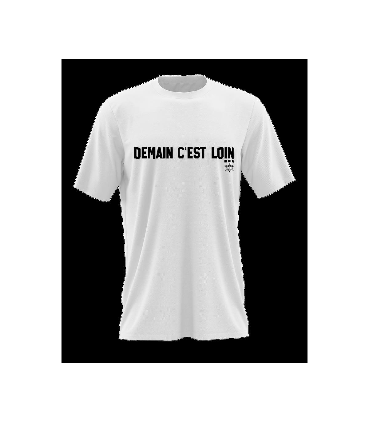 Tee-shirt blanc Iam - Demain c'est loin