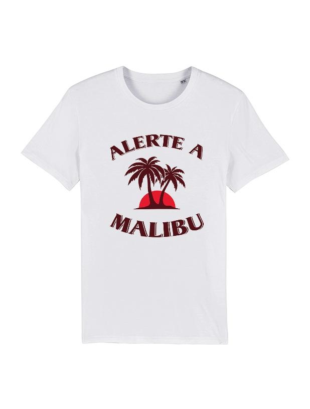 Tshirt Amadeus - Malibu Blanc