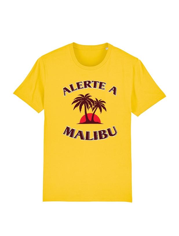 Tshirt Amadeus - Malibu jaune