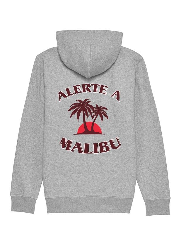 sweat zippé Amadeus - Malibu gris