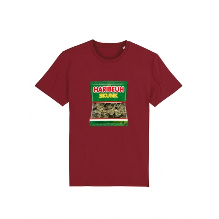 Tshirt Haribeuh bordeaux