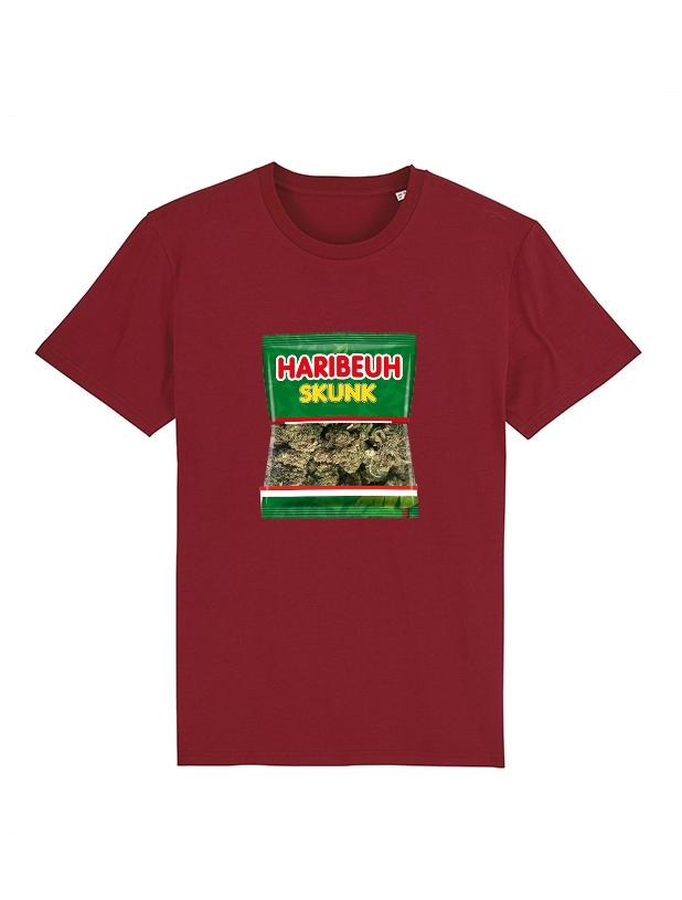 Tshirt Amadeus - Haribeuh bordeaux