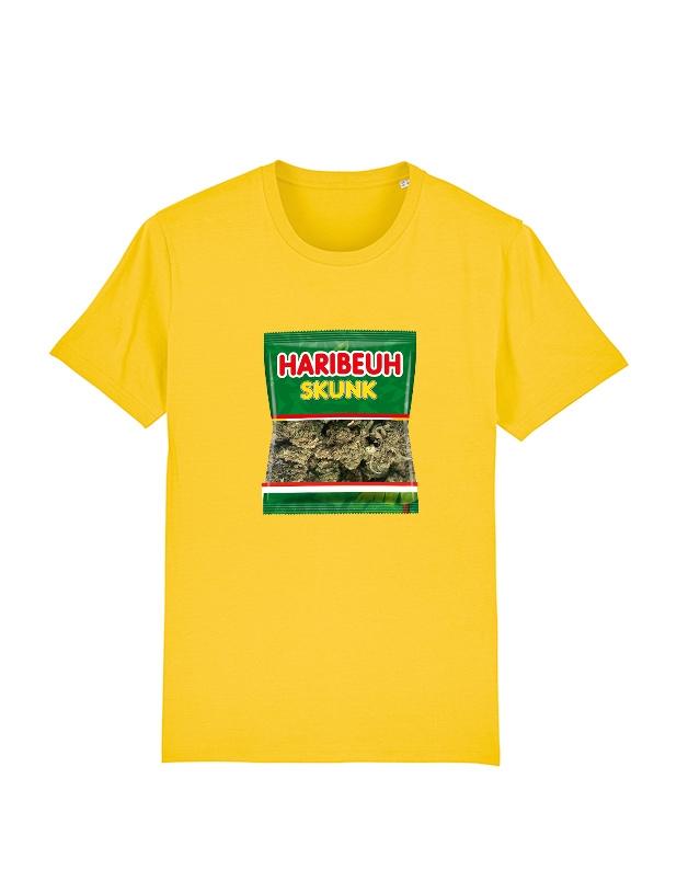 Tshirt Amadeus - Haribeuh jaune