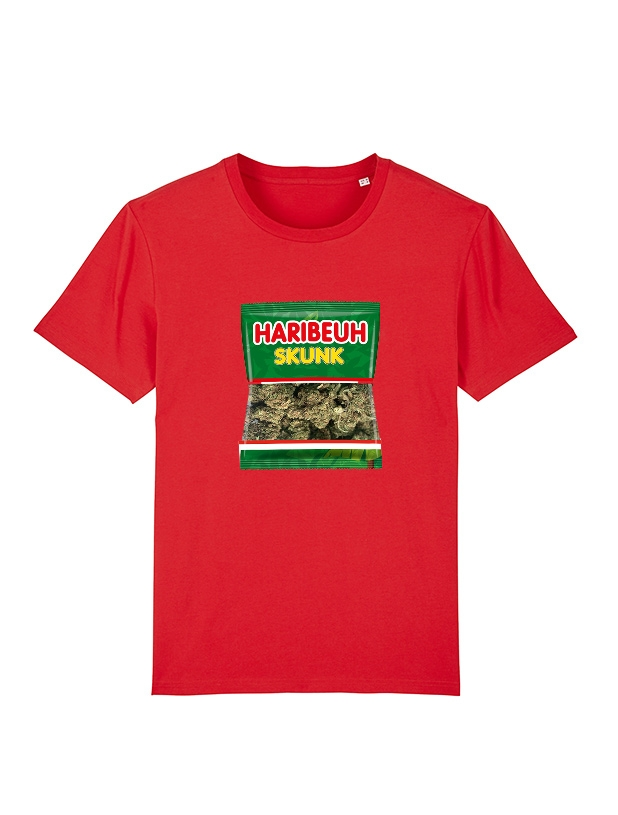 Tshirt Amadeus - Haribeuh rouge