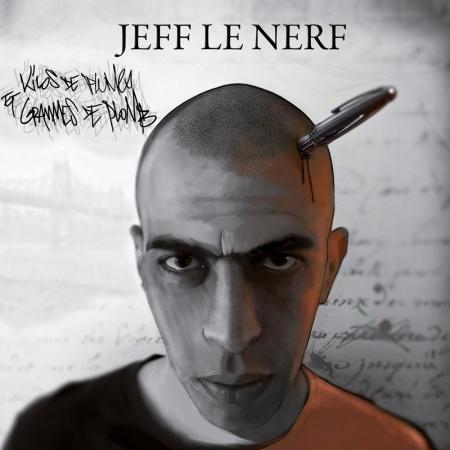 """Album Vinyle """"Jeff le nerf """" - Kilos de plumes et grammes de plomb"""