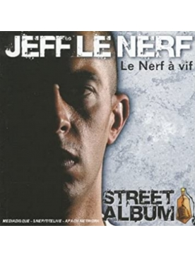 "Album Cd ""Jeff le nerf - Le nerf à vif"""