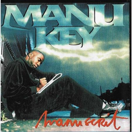 "Album Cd ""Manu Key - Manuscrit"""