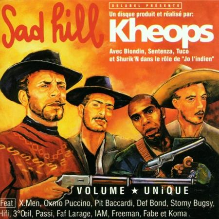 Album Cd SAD HILL - dj Kheops