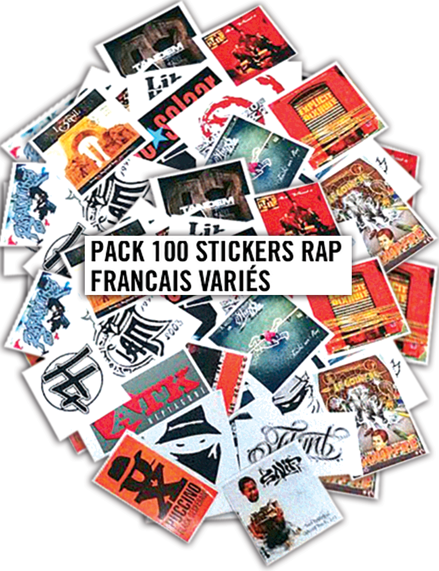 Pack 100 Stickers