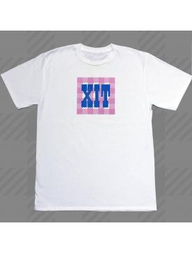 "Tee-Shirt ""Pulse Xit Tati"" Blanc"
