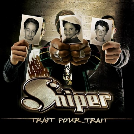 "Album Cd ""Sniper - Trait pour trait"""