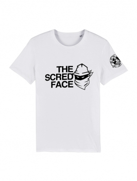 T-shirt Blanc The Scred Face