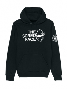 Sweat Capuche Noir The Scred Face