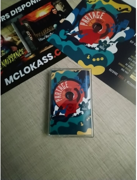 "Album K7 ""Mc Lokass -Partage vol.1 hip hop under"""
