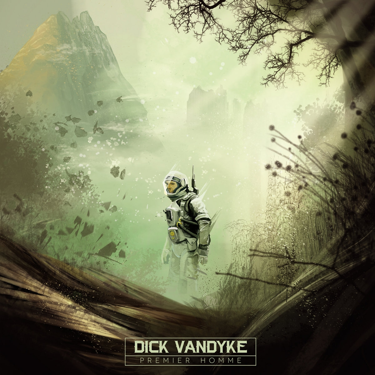 "Album Cd ""Dick Vandyke-- Premier homme"""
