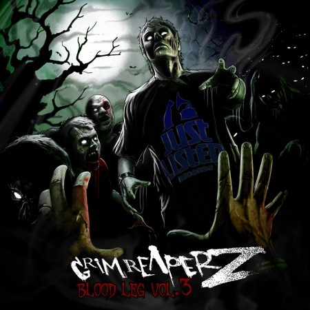 "Album Vinyle ""Grim Reaperz - Blood Leg vol.3"""