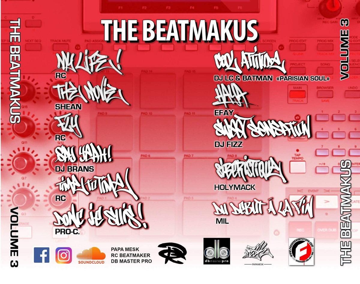 "Album vinyle ""The RC Beatmakus volumes 3"""