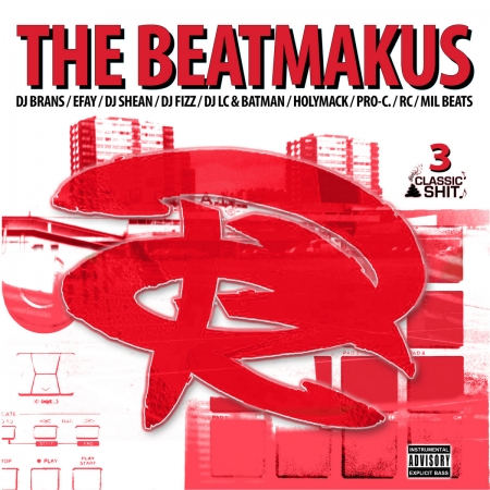 "Album Cd ""The RC Beatmakus volumes 3"""