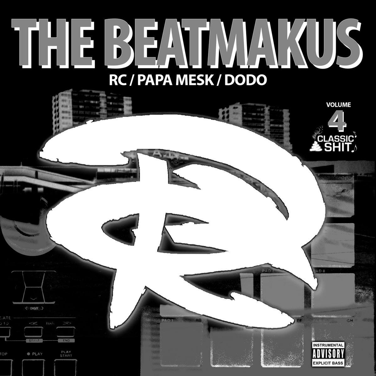"""Album Cd """"The RC Beatmakus volumes 4"""""""