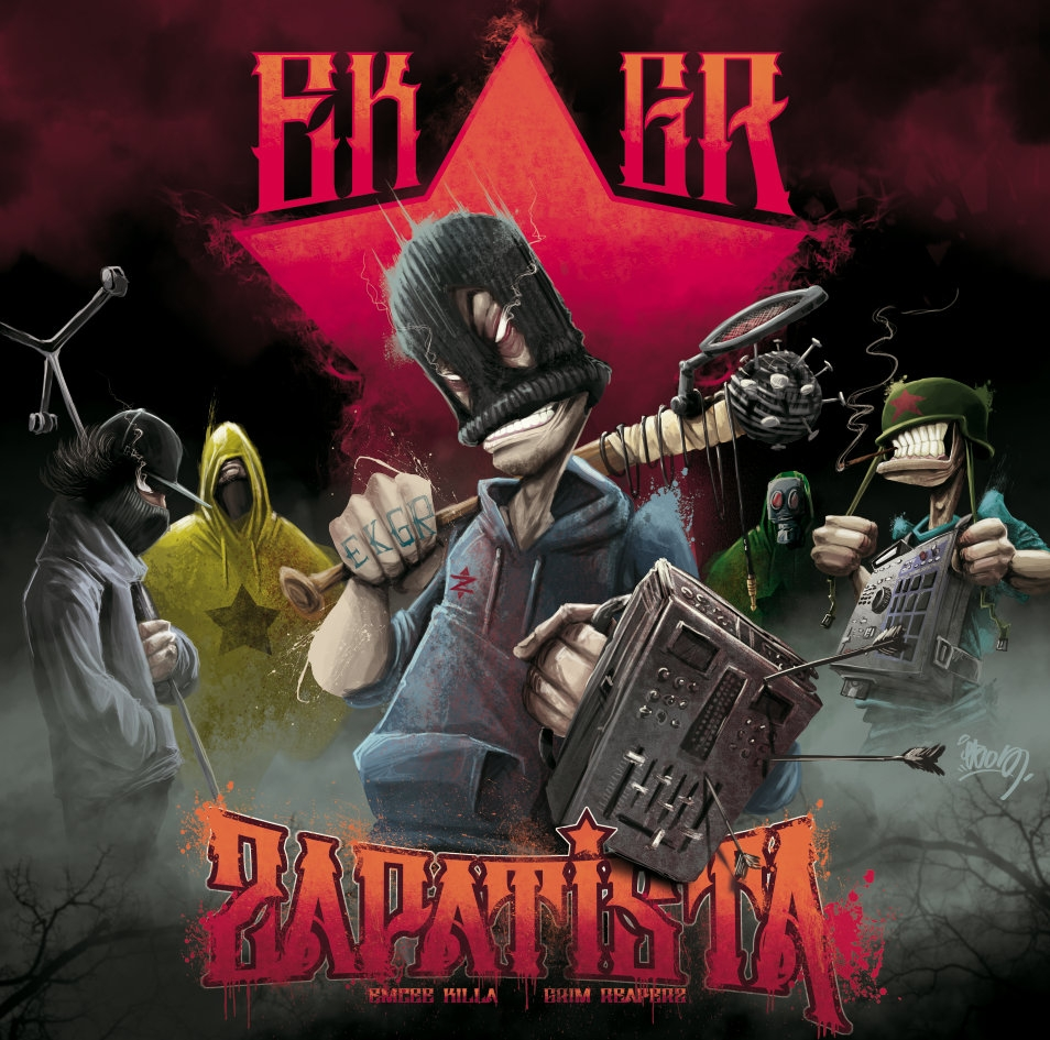 "Album Vinyle ""Grim Reaperz & Emcee Killa - Zapatista"""