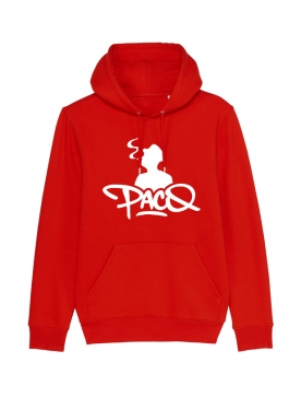 Sweat Capuche - Paco Logo Rouge