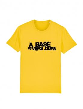 T-Shirt Paco - A base de Vers Durs Jaune